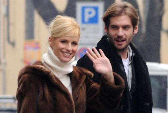 Michelle Hunziker e Tomaso Trussardi a Milano 650x435