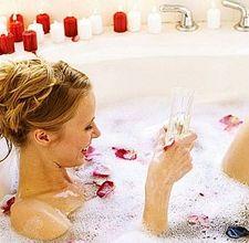 come pianificare un bagno romantico per san valentino - notizie.it - Bagno Romantico San Valentino