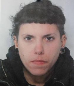 L'anarchica Maddalena Calore, una delle anime del circolo bolognese Fuoriluogo, coinvolta nell'inchiesta Outlaw è stata fermata dalla polizia di Trapani. - image