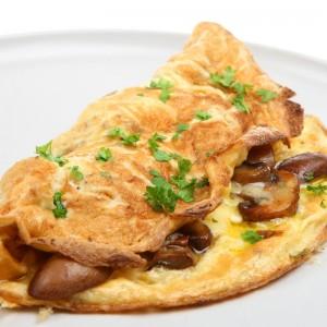 omelette ai funghi porcini