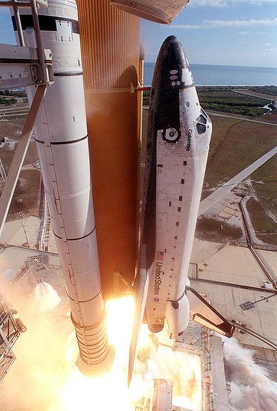 ultimo lancio columbia