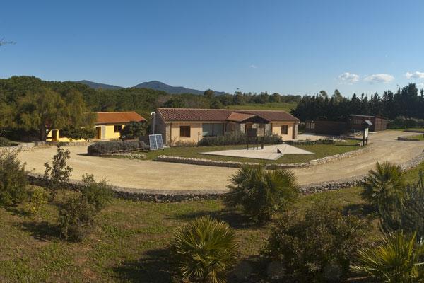 Vista del Centro di Educazione Ambientale