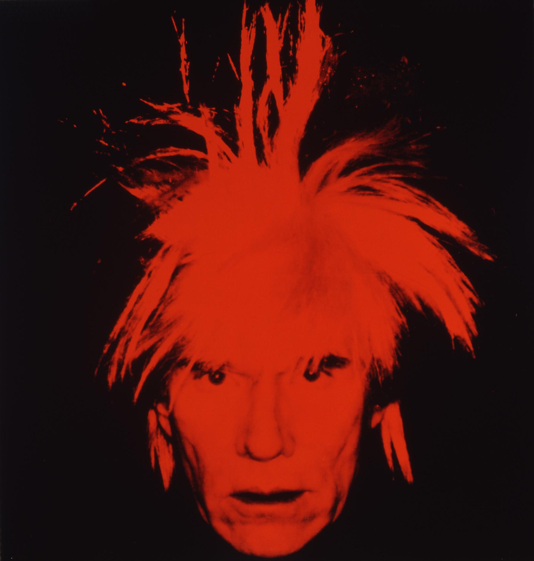 Andy Warhol, Self-Portrait, 1986, © AWF