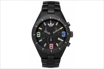 Cronografo Adidas Nero