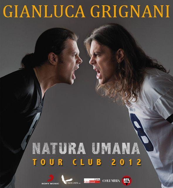 Grignani Sguardi nuovo singolo e club tour 2012