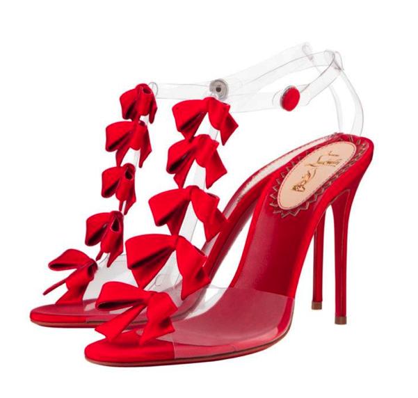 """Christian Louboutin: Sandalo Bow Bow della capsule collection per i festeggiamenti del ventennale, """"20 Shoes for 20 Years"""""""