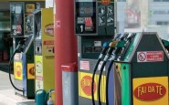 Una pompa di benzina