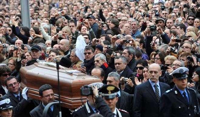 funerali lucio dalla