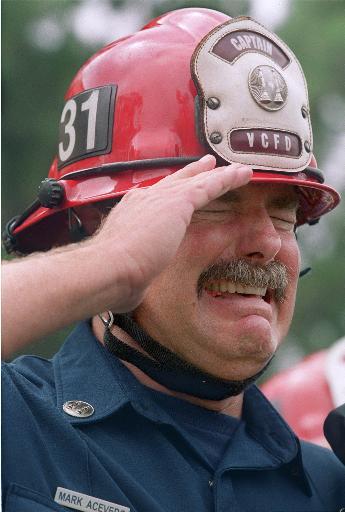 pompiere US, NY