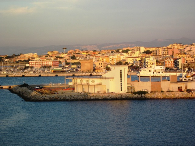 Una veduta di Porto Torres