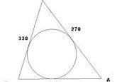 Come calcolare il raggio di un cerchio circoscritto ad un triangolo