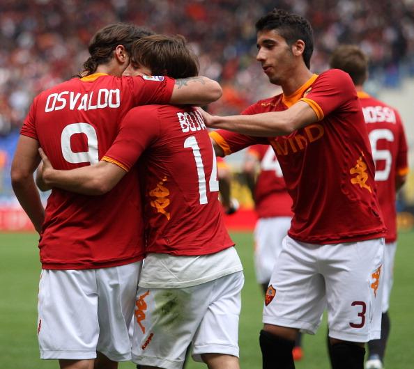 AS Roma v Novara Calcio  - Serie A