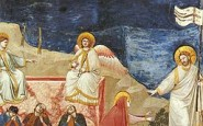 Giotto di Bondone (1267-1337), Cappella Scrovegni a Padova, Resurrection (Noli me tangere)
