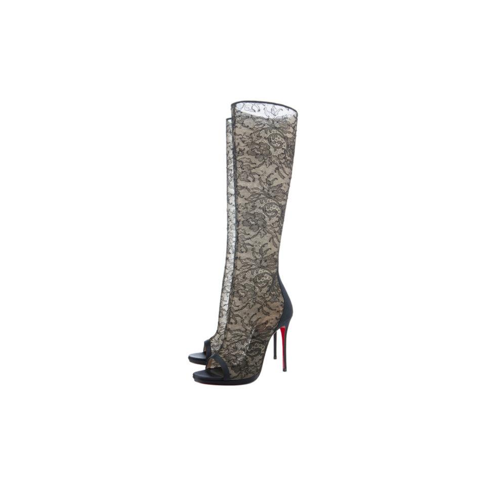"""Christian Louboutin: The Alta Dentelle della capsule collection per i festeggiamenti del ventennale, """"20 Shoes for 20 Years"""""""