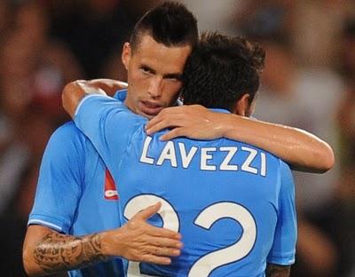 """Lavezzi e Hamsik: """"Napoli, lottiamo per il terzo posto"""""""