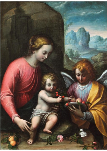 OMC Madonna con Bambino
