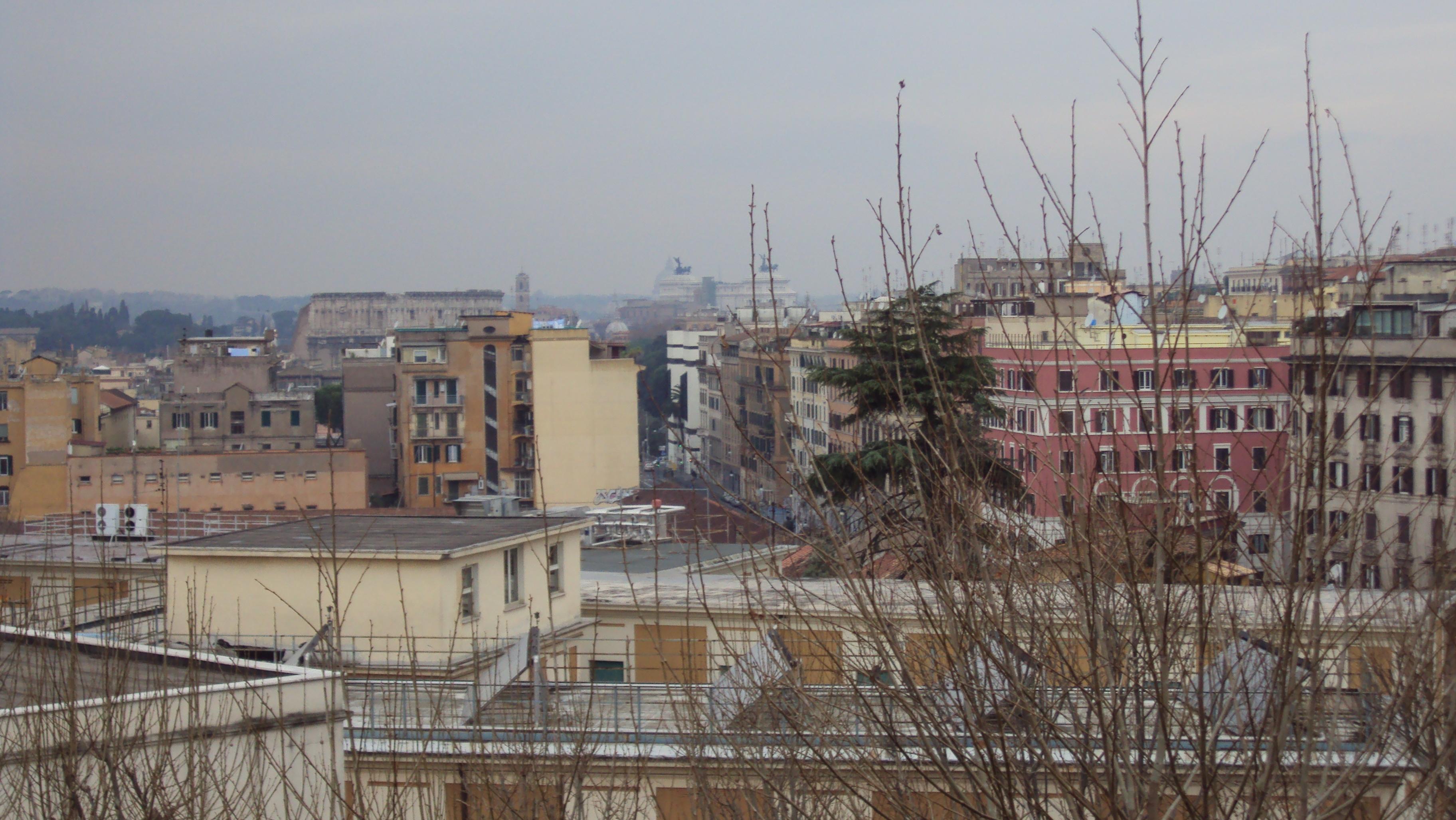Pioggia a Roma