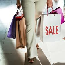 Shopping durante i saldi