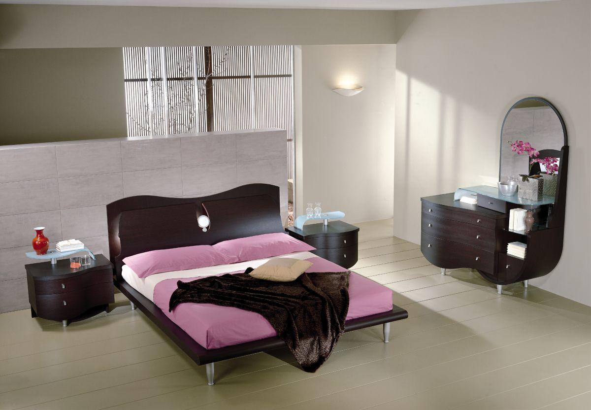 Moderna ed eccentrica camera da letto for Casa con una camera da letto