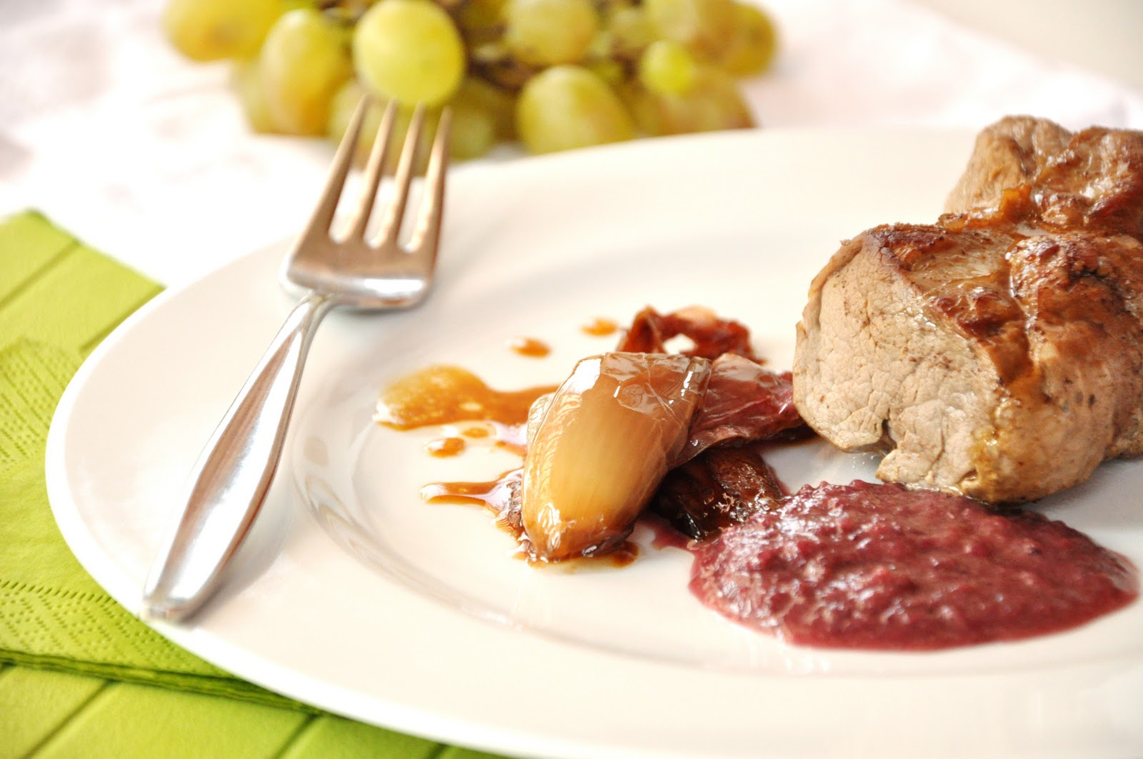 Ricette salate lonza di maiale in salsa d 39 uva for Cucinare jalapeno