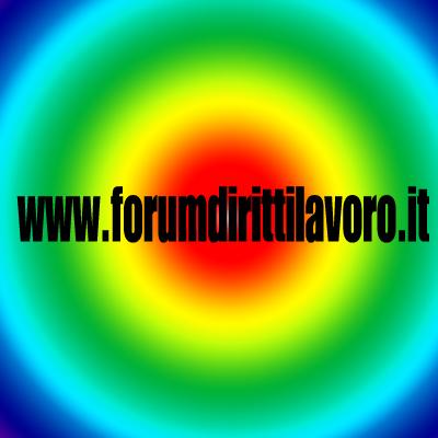 forum diritti/lavoro