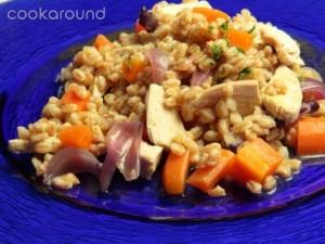 insalata di farro con pollo e carote bigwm 300x225