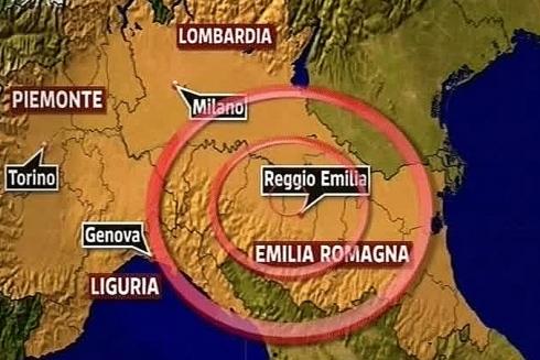 terremoto del 20 maggio in Emilia magnitudo 6