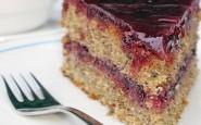 torta grano saraceno e mirtilli
