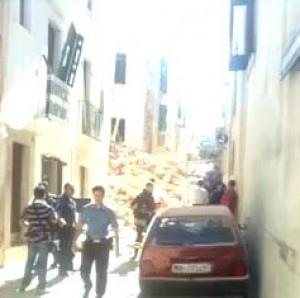 Conversano: due palazzi crollano in via Zingari