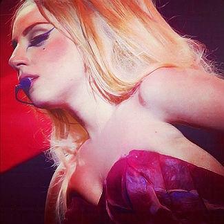 Lady Gaga colpita alla testa con un palo di ferro durante un concerto