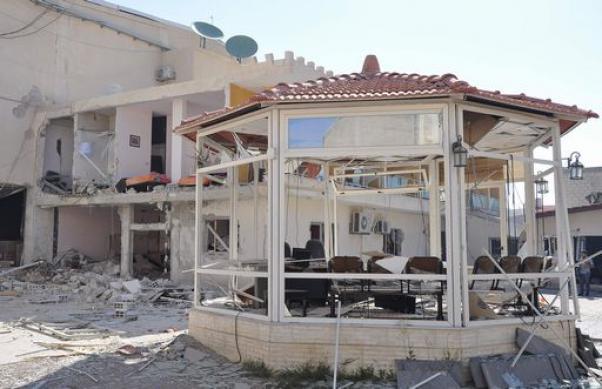 Al-Ikhbariya's headquarter near Dimashq