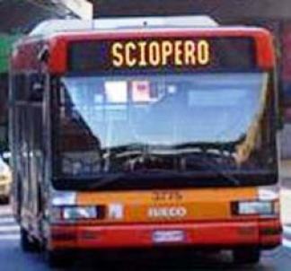 sciopero degli autobus a roma1