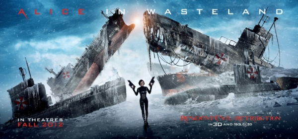 Resident Evil: Retribution, nuovo banner