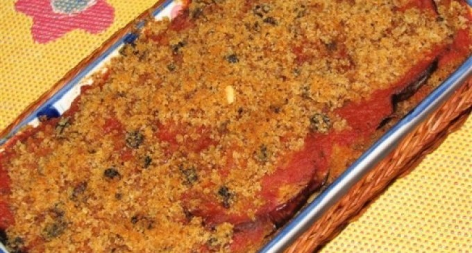 Ricette salate: terrina di melanzane e olive nere