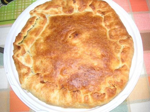 Pizza rustica patate e pesto