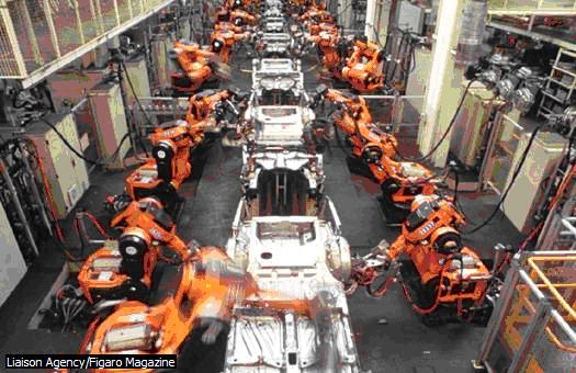 fabbrica automatica Wolkswagen