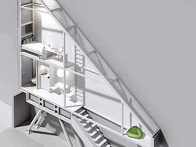 Una casa taglia s cappella musicale del duomo di milano for Moderni piani casa stretta
