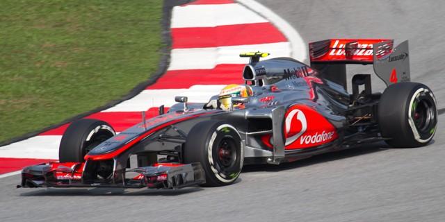Lewis Hamilton 2012 Malaysia Qualify