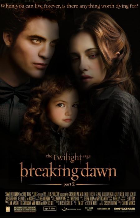 la saga di Twilight raggiunge il capitolo finale