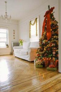 Idee e foto per realizzare delle decorazioni natalizie - Finestre stile americano ...