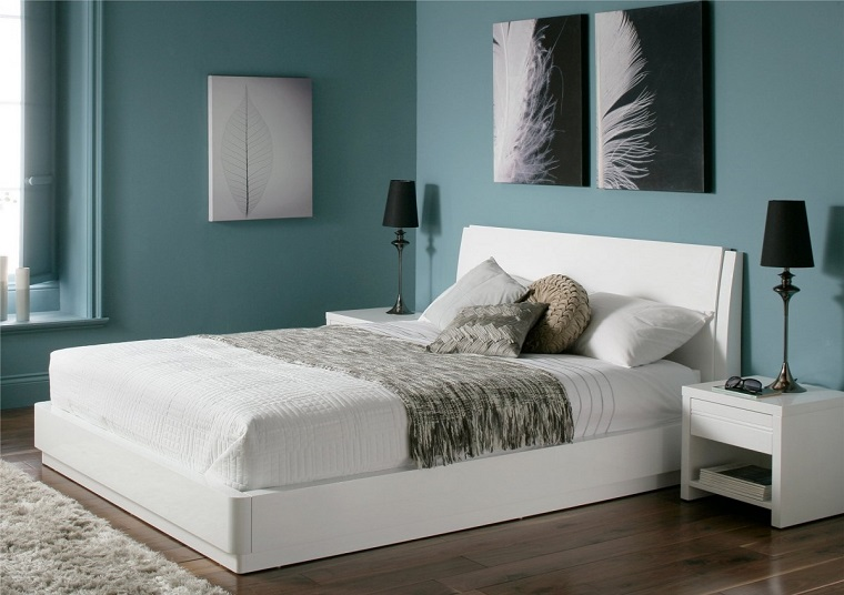 Colori che si adattano a camera da letto con mobili bianchi ...