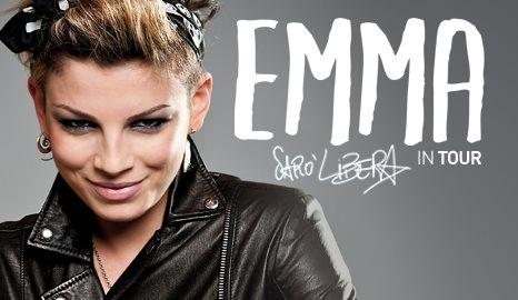 emma marrone saro libera tour date