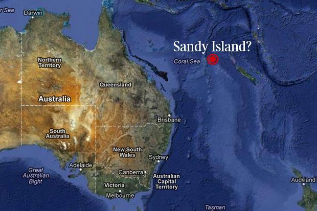 sandy island map 358521c1