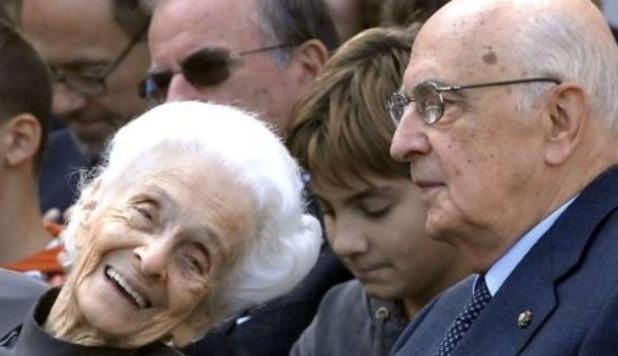 Rita Levi Montalcini: la commozione di Napolitano, il cordoglio dei politici