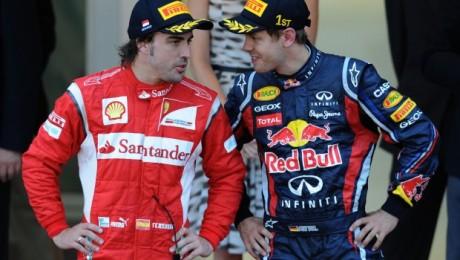 Alonso-e-Vettel-