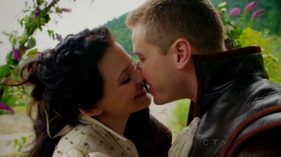 Ginnfer Goodwin Josh Dalas Snow White Prince Charming Get Married Once Upon A Time Season 2 Lady of the Lake 2