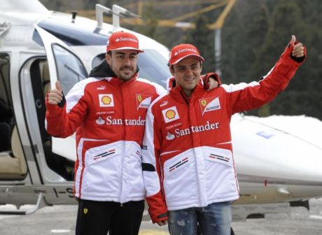 Wroom 2013 Alonso e Massa