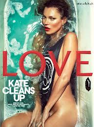 Kate Moss senza veli per Love Magazine