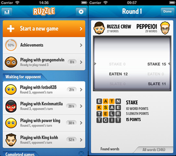 ruzzle field 2a what is ruzzle