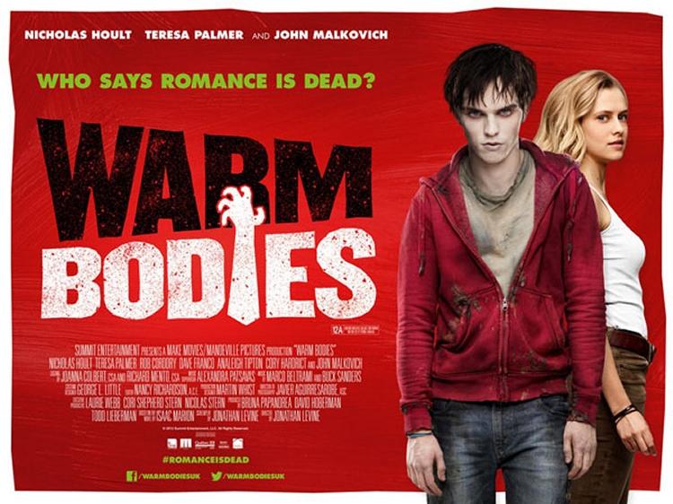 warm bodies quad poster